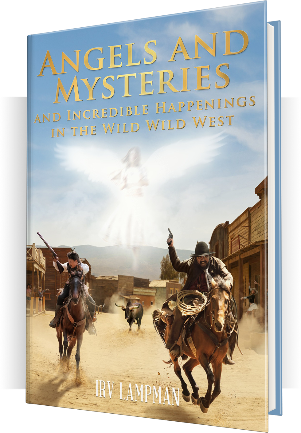 Angels and Mysteries book mockup